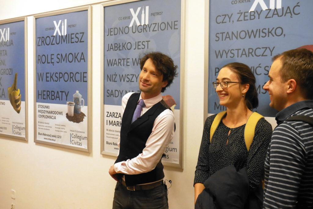 Michał Kosiński 20 grudnia 2019 wykład dla Concilium Civitas foto Włodek Ciejka zapis wideo, konkurs dla maturzystów, matura 2020