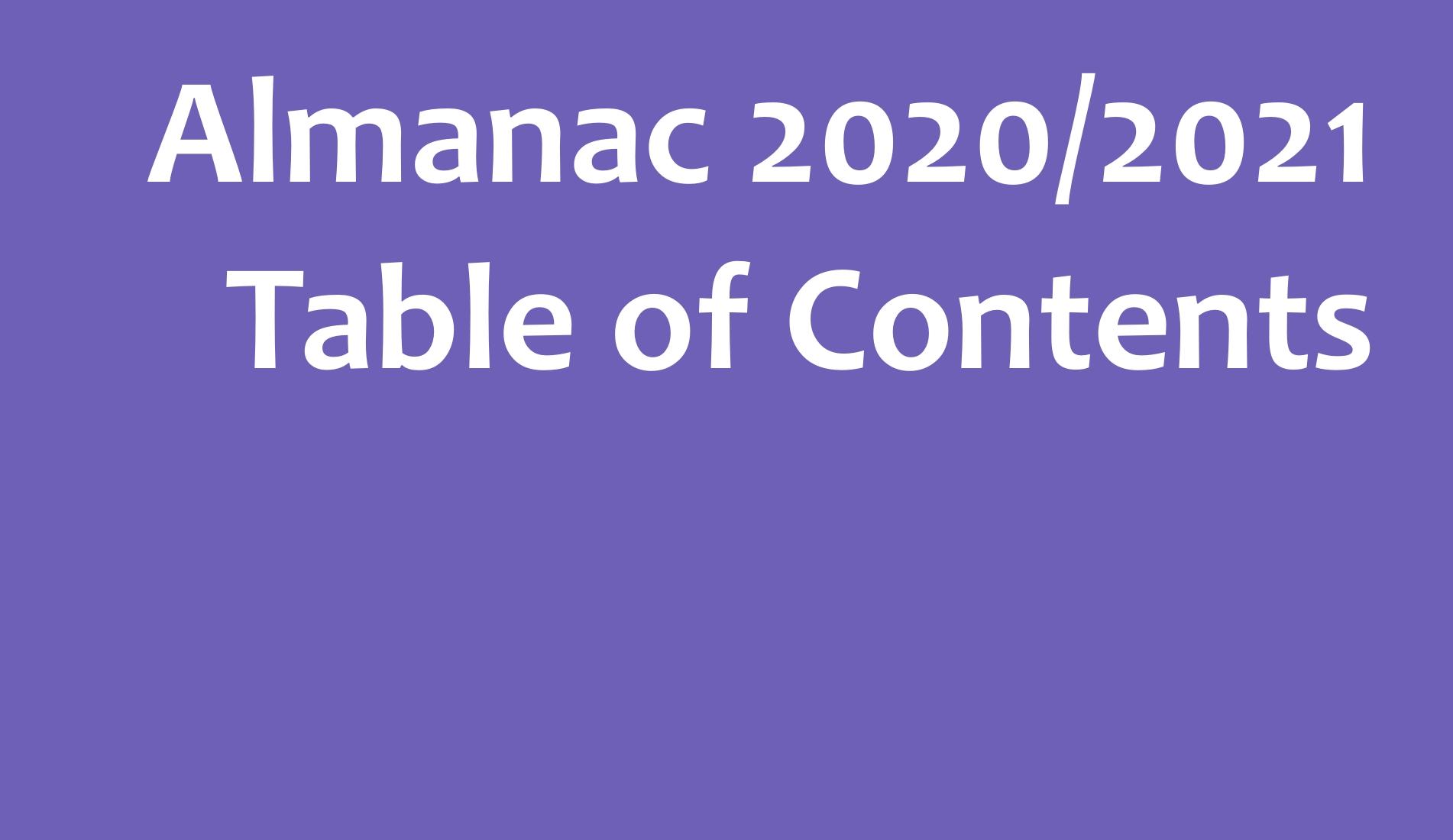 Concilium Civitas, Almanach 2020/2021, Przyszłość, Czas po COVID, life after COVID