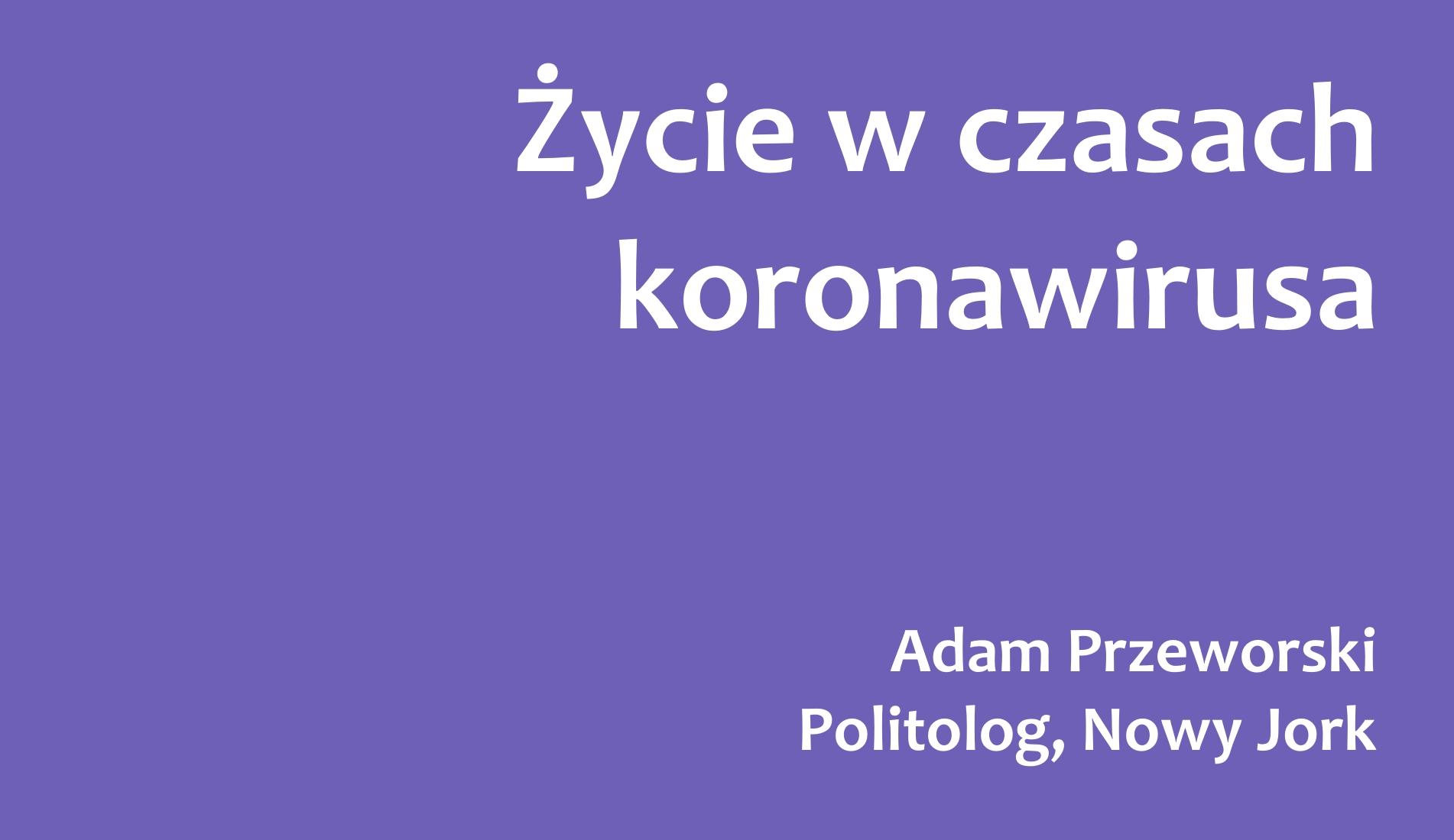 Concilium Civitas, Almanach 2020/2021, Przyszłość, Czas po COVID